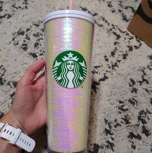 Holiday 2020 Starbucks Sequin Tumbler 24oz